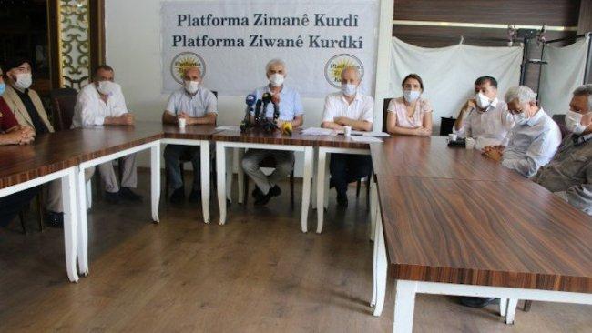 Kürtçe raporu: Kürt Dil Kurumu kurulsun