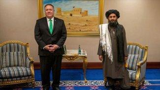 Pompeo, Taliban liderleriyle görüştü