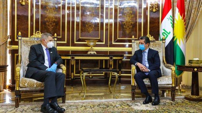 Başbakan, ABD Büyükelçisi ile Kürdistani bölgeleri görüştü