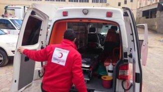 El Bab'da Türk Kızılay aracına saldırı: 1 ölü, 1 yaralı