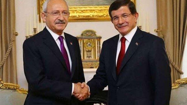 Kılıçdaroğlu ve Davutoğlu'dan ortak 'seçim ittifakı' açıklaması