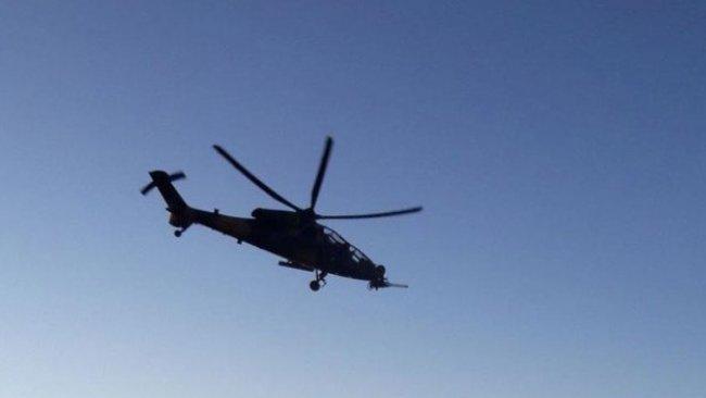 Rojava'da ABD ordusuna ait helikopter düştü