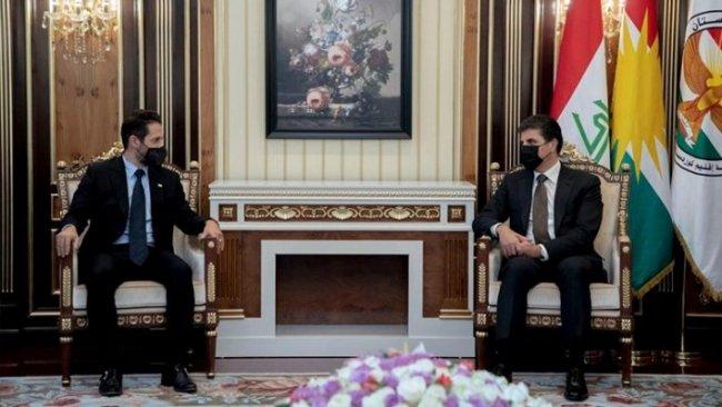 Başkan Neçirvan Barzani, Kubad Talabani ile bir araya geldi