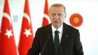 Erdoğan: Sorunları herkesin kazanabileceği bir çözüme kavuşturmak niyetindeyiz