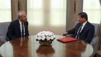 'Davutoğlu doğu anketini Kılıçdaroğlu ile paylaştı'