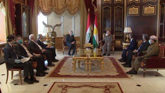 Başkan Barzani ile James Jeffrey bir araya geldi