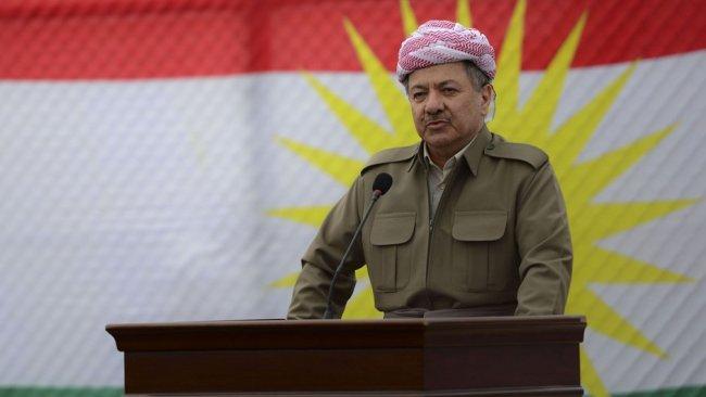 BM toplantısında Mesud Barzani barış sembolü olarak gösterildi