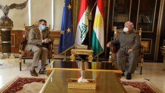 Mesud Barzani: Bağdat ile sorunlar barış ve diyalog yoluyla çözülür