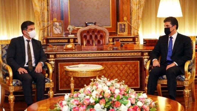 Neçirvan Barzani'den Almanya'ya teşekkür