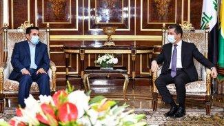 Başbakan, Bağdat heyetini kabul etti