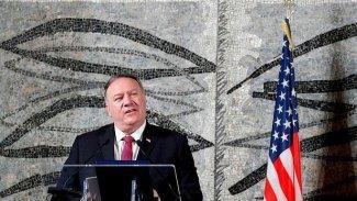 ABD Dışişleri Bakanı Pompeo'dan