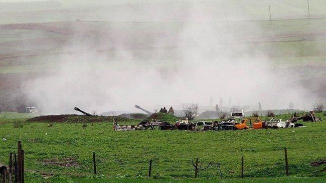 Ermenistan'dan Azerbaycan'ın Terter kentine top atışı