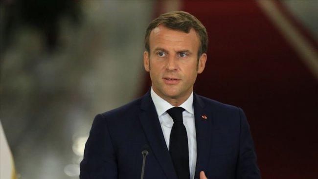 Macron: Türkiye'den yapılan açıklamalar düşüncesiz ve tehlikeli