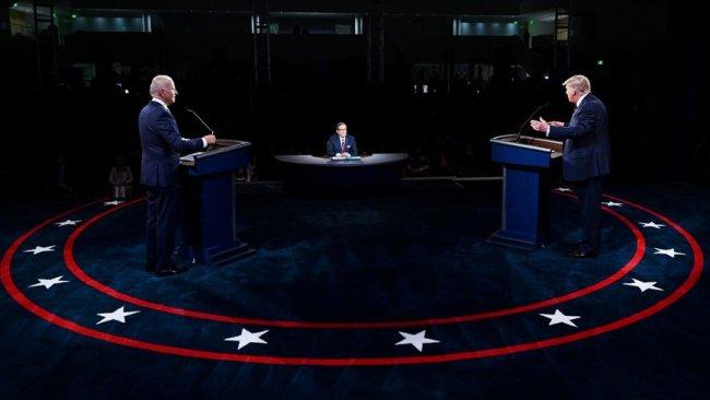 Trump ve Biden canlı yayında karşı karşıya geldi