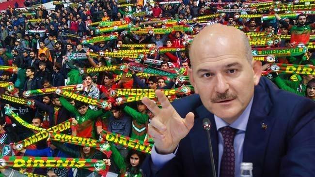 Soylu 'PKK talimat gönderdi' demişti...Amedspor hakkında başlatılan inceleme tamamlandı!
