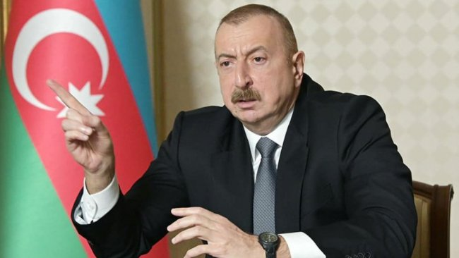 Aliyev'den ateşkes için üç şart