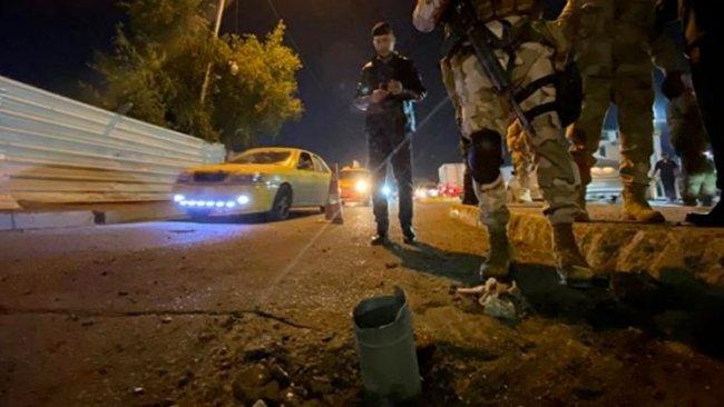 Bağdat Havalimanı yakınlarına füzeler düştü!