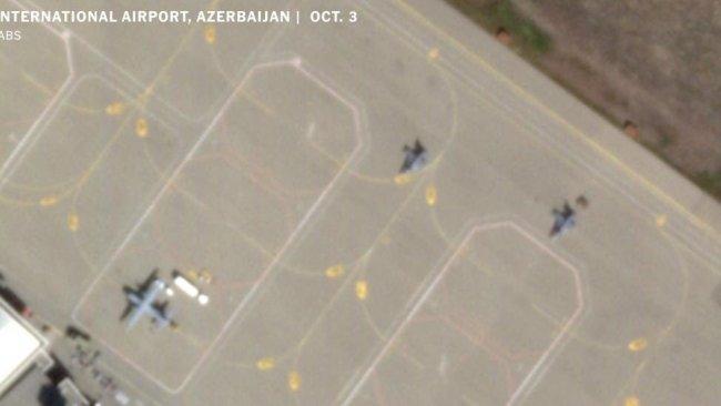 New York Times, uydu görüntüleri paylaştı: 'Türkiye, Azerbaycan'da F-16'lar konuşlandırdı'