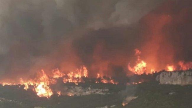 PKK'den Hatay'daki orman yangınına ilişkin açıklama
