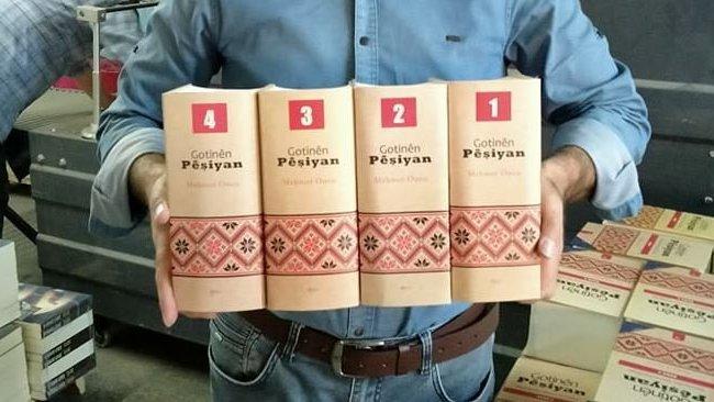 4 ciltlik Kürt Atasözleri kitabı Sîtav Yayınlarından çıktı
