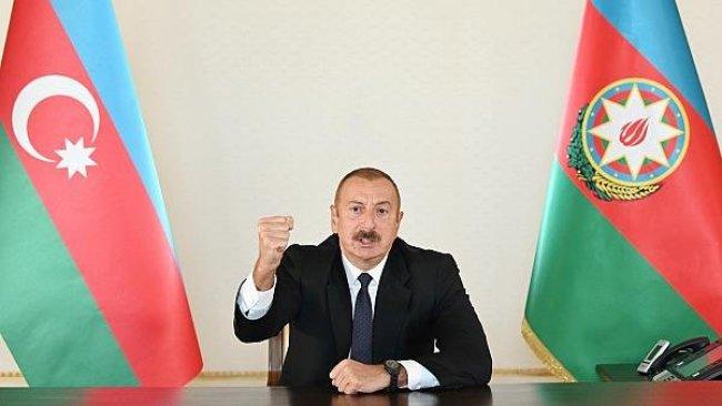 Aliyev: Bu savaş bir kurtuluş savaşıdır