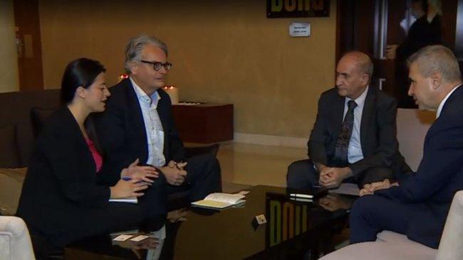 İsveç heyeti ENKS ile görüştü: 'Suriye krizinde Avrupa'nın rolü zayıftır'