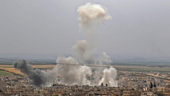 ABD'den Suriye'de hava saldırısı: Üst düzey isimler öldürüldü