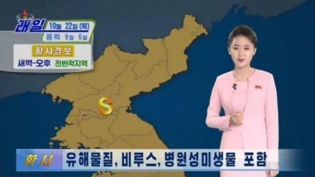 Kuzey Kore'de 'virüslü toz' uyarısı