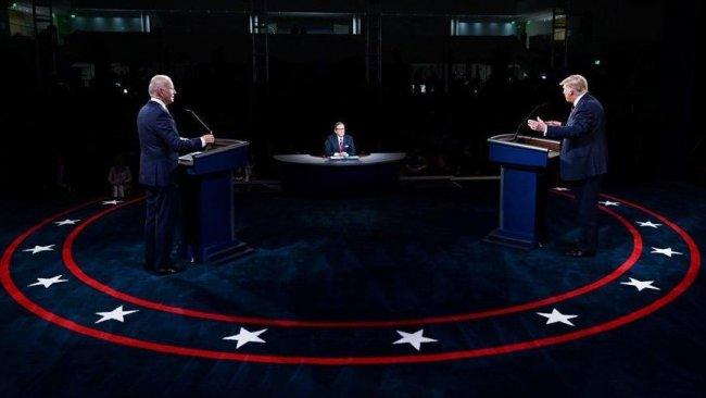 Trump ve Biden ikinci kez karşı karşıya geldi