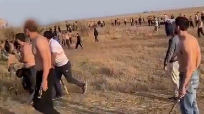 Rusya'da Kazaklar Kürtlere saldırdı!