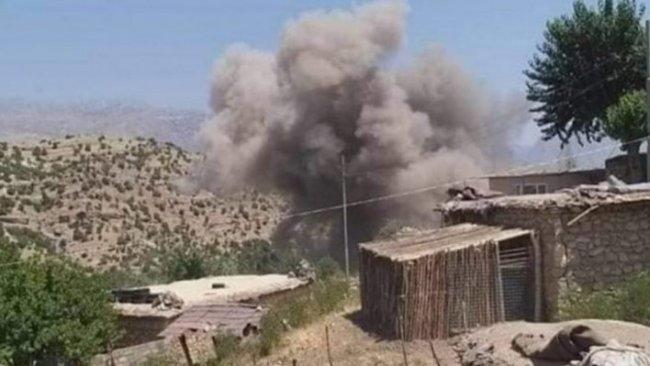 TSK Dinarte sınırını bombaladı