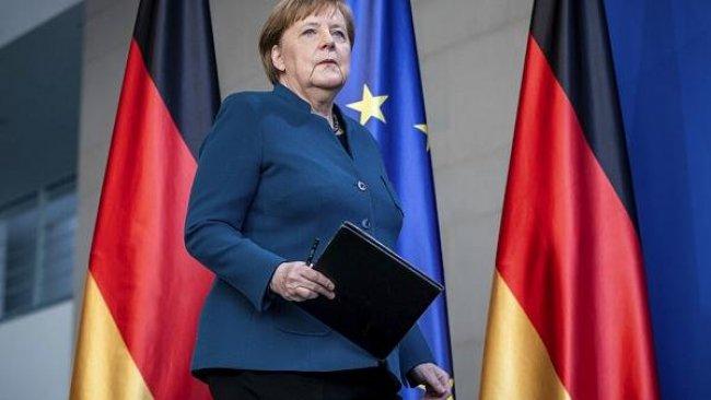 Merkel'den Erdoğan'a 'Macron' tepkisi