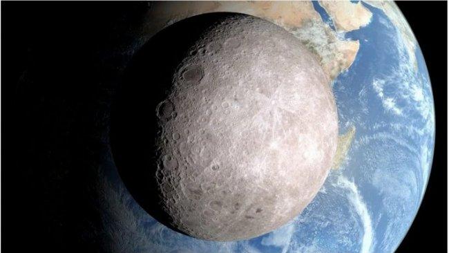Ay'ın güneşe bakan yüzeyinde su bulundu