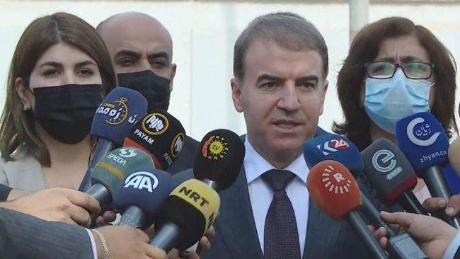 Kürdistan Parlamentosundan Fransa Konsolosluğuna destek mesajı