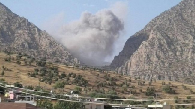 İran'dan sınır bölgelerine SİHA ve top saldırısı!