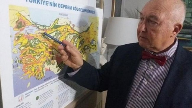 Prof. Dr. Ahmet Ercan: Depremde yoksullar ölür, zenginler ölmez