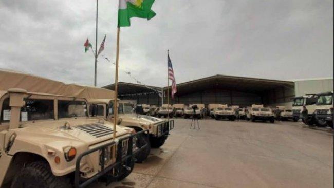 ABD'den Peşmerge'ye askeri sevkiyat