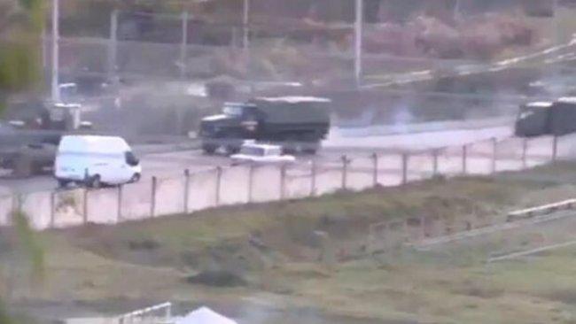 Rusya'dan Karabağ'a asker sevkiyatı