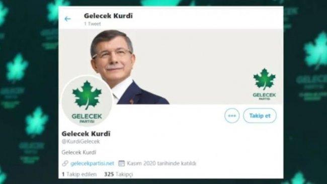 Gelecek Partisi'nin Kürtçe Twitter hesabı resmi olarak açıldı