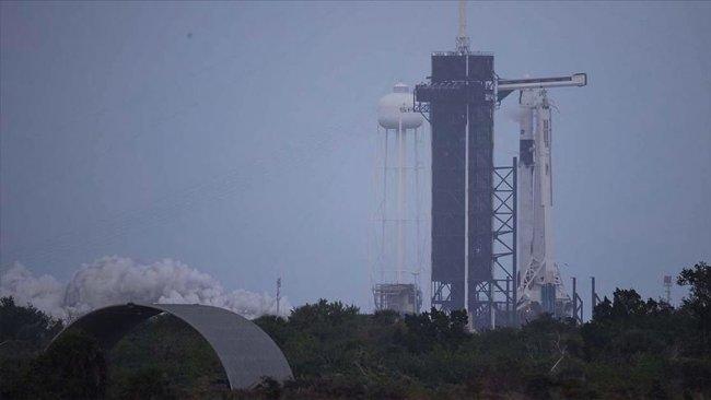 NASA, SpaceX roketini Uluslararası Uzay Merkezi'ne fırlattı
