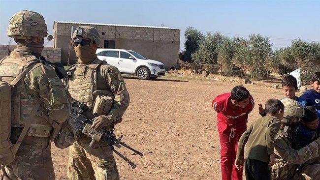 ABD askeri konvoyu Rojava'ya geçti