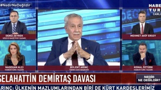 MHP'den Arınç'ın 'Selahattin Demirtaş' çıkışına tepki
