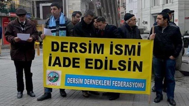 Mahkeme 'Dersim' ismini reddetti