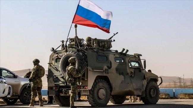 Rus ve Türk askerlerinden Kobani'de ortak devriye