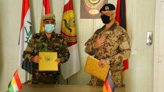 Peşmerge Bakanlığı ile Alman timi arasında askeri anlaşma