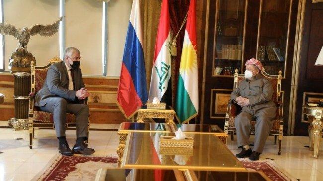 Başkan Barzani Rus Büyükelçi'yle görüştü