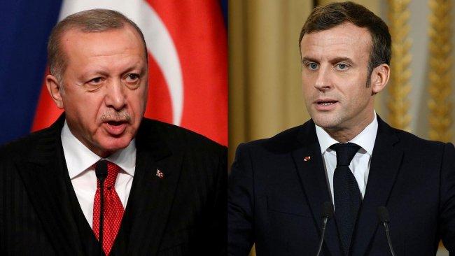 Erdoğan: Macron Fransa'nın başına beladır