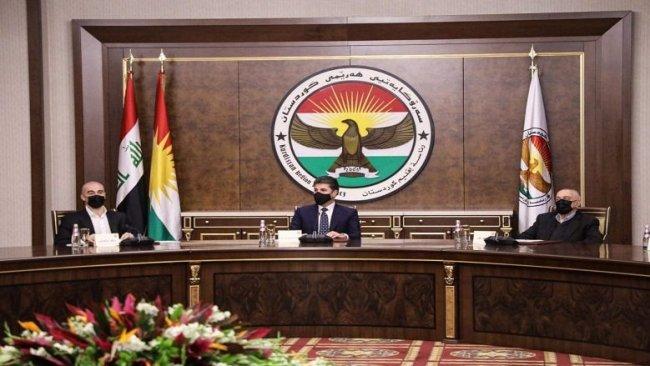Erbil'deki toplantı sona erdi: KDP, YNK ve Goran'dan ortak karar!