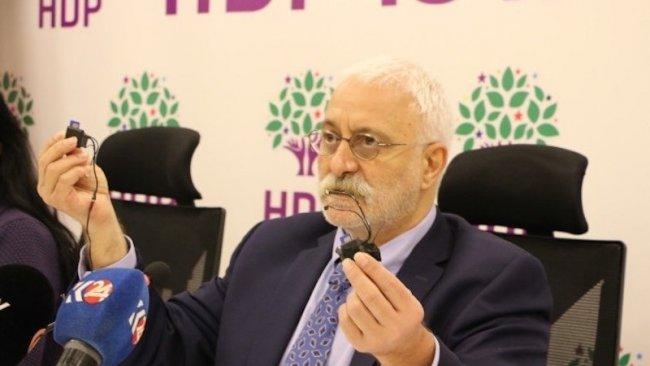 HDP dinleme cihazlarına ilişkin suç duyurusunda bulunacak