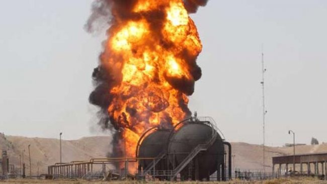 IŞİD, Kerkük'te 2 petrol kuyusunu patlattı